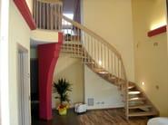 Wooden Open staircase ECOLINE - Interbau Suedtirol Treppen