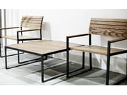 Low Square garden side table GARDEN | Coffee table - Röshults