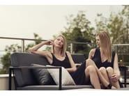 Sled base 2 seater garden sofa GARDEN EASY | 2 seater sofa - Röshults