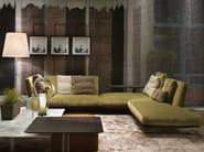 Corner sectional fabric sofa EVERGREEN | Sectional sofa - FLEXFORM