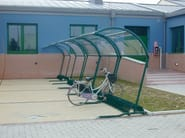 Porch for bicycles and motorcycles BIKE 2000 - SMEC