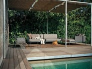 Sectional garden sofa BASKET - RODA