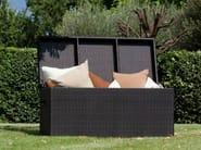 Resin wicker garden cabinet BOX | Garden cabinet - Talenti