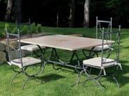 Rectangular garden table CORAL | Rectangular table - Talenti
