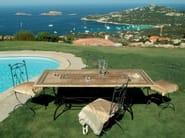 Rectangular garden table DEMETRA - Talenti