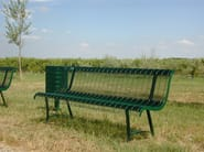Outdoor Bench ONDA 1830 - SMEC