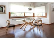 Dining table TREE-240 - DOMITALIA