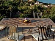 Rectangular table DIATERNA - Talenti