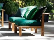 Fabric garden armchair INOUT 06 - Gervasoni