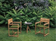 Teak garden chair with armrests ORSON | Chair with armrests - RODA