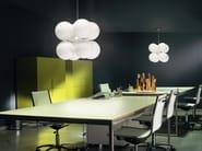 Glass pendant lamp BANALE | Pendant lamp - LUCENTE - Gruppo Rostirolla
