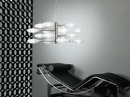 Glass pendant lamp LOLLYPOP   16L - LUCENTE - Gruppo Rostirolla