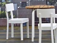 Aluminium chair INOUT 23W - Gervasoni