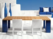 Rectangular garden table INOUT 33 - Gervasoni