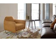 Fabric armchair with armrests ELLIE - Ditre Italia