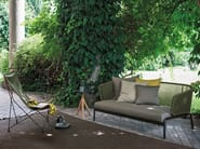 2 seater stainless steel garden sofa SPOOL | 2 seater sofa - RODA