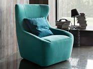 High-back fabric armchair BESS - Ditre Italia