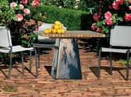 Square garden table INOUT 35 - Gervasoni