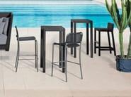 High garden stool INOUT 228 - Gervasoni