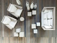 2 seater garden sofa INOUT 502 - Gervasoni