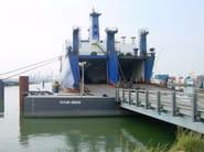 Pier and dock JANSON RORO'S - JANSON BRIDGING ITALIA