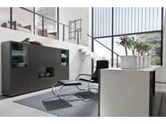 Lacquered highboard with doors NEO | Highboard - Hülsta-Werke Hüls