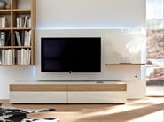 Wooden TV cabinet with built-in speakers NEO | TV cabinet with built-in speakers - Hülsta-Werke Hüls