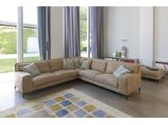Sectional imitation leather sofa MORRISON LEATHER - Ditre Italia