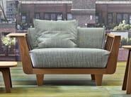 2 seater garden sofa INOUT 901 - Gervasoni