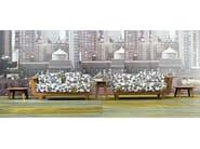 3 seater garden sofa INOUT 906 - Gervasoni