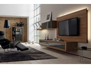 Wooden TV cabinet with built-in speakers XELO | TV cabinet with built-in speakers - Hülsta-Werke Hüls