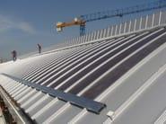 Metal sheet and panel for roof DRYTEC® 550 SOLAR FLEX - CENTROMETAL