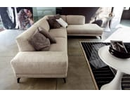 Corner fabric sofa SHADE   Corner sofa - Ditre Italia