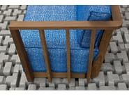 Garden armchair with armrests INOUT 911 - Gervasoni