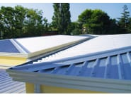 Metal sheet and panel for roof SILMA - CENTROMETAL
