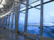 Sound absorbing laminated security glass Pilkington Optiphon™ - PILKINGTON ITALIA