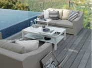 2 seater textilene garden sofa CHIC | 2 seater sofa - Talenti