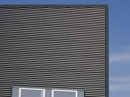 Insulated metal panel for facade ISOCLASS - ISOPAN