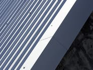 Insulated metal panel for roof ISOCOP - ISOPAN