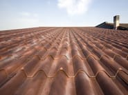 Insulated metal panel for roof ISODOMUS - ISOPAN