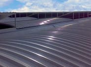 Insulated metal panel for roof ISORAY 3.3 & 6 - ISOPAN