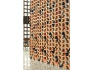 Terracotta 3D Wall Cladding TIERRAS ARTISANAL LITTLE L - MUTINA