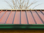 Insulated metal panel for roof ISOFARM - ISOPAN