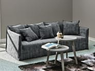 4 seater sofa with removable cover GHOST 12 - Gervasoni