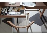 Walnut chair SWEET 21 - Gervasoni