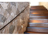 Outdoor indoor natural stone wall tiles GARDENA - B&B