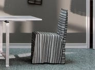 Restaurant chair with removable cover GHOST 23 - Gervasoni