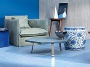 Hexagonal top low coffee table for living room SWEET 46 - Gervasoni