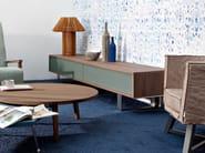 Walnut sideboard with drawers SWEET 62 - Gervasoni