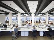 Acoustic ceiling tiles Ecophon Master™ Matrix - Saint-Gobain ECOPHON
